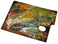 Palette van Vincent van Gogh